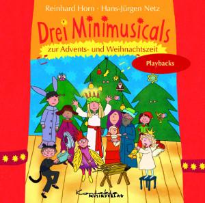Drei Minimusicals zur Advents- und Weihnachtszeit (Playback)