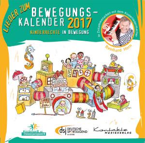 Lieder zum musikalischen Bewegungskalender 2017 – Kinderrechte in Bewegung (gesungen)