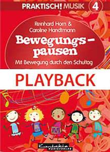 Praktisch! Musik 4 - Bewegungspausen (Playback)