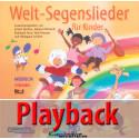 Welt-Segenslieder für Kinder (Playback)