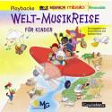 Welt-MusikReise für Kinder (Playback)