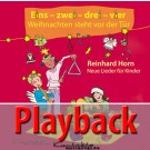 Eins – zwei – drei – vier – Weihnachten steht vor der Tür (Playback)