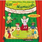Vier neue Minimusicals zur Advents- und Weihnachtszeit (Playback)